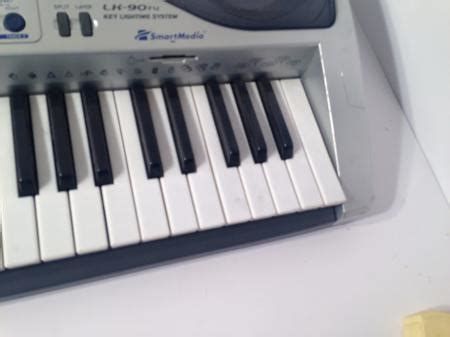 Keyboard Casio Lk 90tv casio lk 90tv 61 key lighted keyboard with karaoke function tested ebay