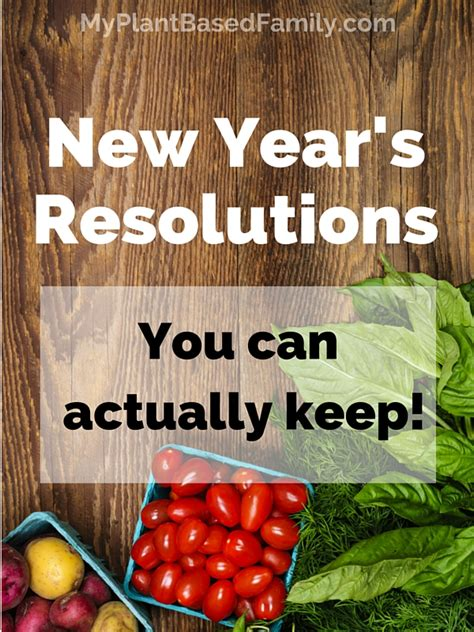 new year is based on new year s resolutions you can actually keep my plant
