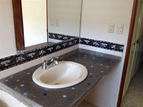 encimeras de cemento countertop para lavamanos cubiertas de concreto