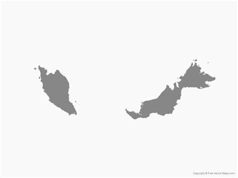 vector malaysia map malaysia map vector ai