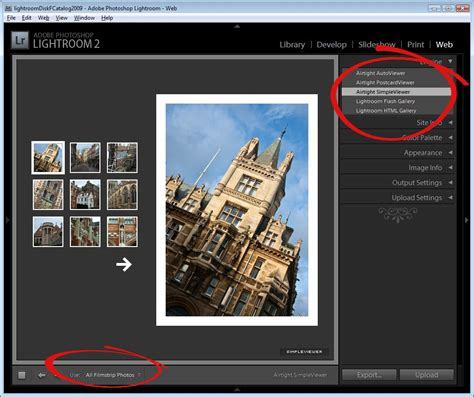 lightroom tutorial slideshow how to create quick and easy web slideshows with lightroom