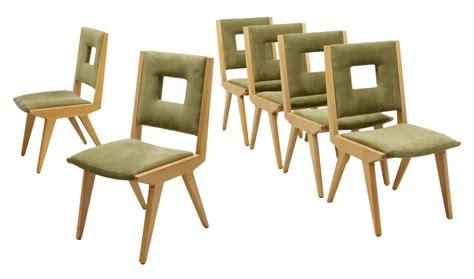 Open Back Dining Chairs 6 Modern Birch Framed Open Back Dining Chairs Italian Antiques Design Firearms