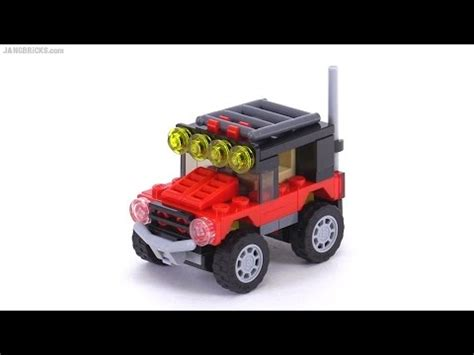 lego mini jeep lego creator mini desert racers 3 in 1 review set 31040
