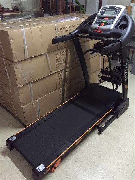 Treadmill Id 6638 M treadmill elektrik id 6638 agen fitness