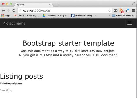 bootstrap layout gem how to setup twitter bootstrap from scratch with rails no