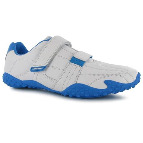 Sepatu Lonsdale Fulham Mens Trainers White Navy lonsdale mens fulham trainers sports shoes ebay