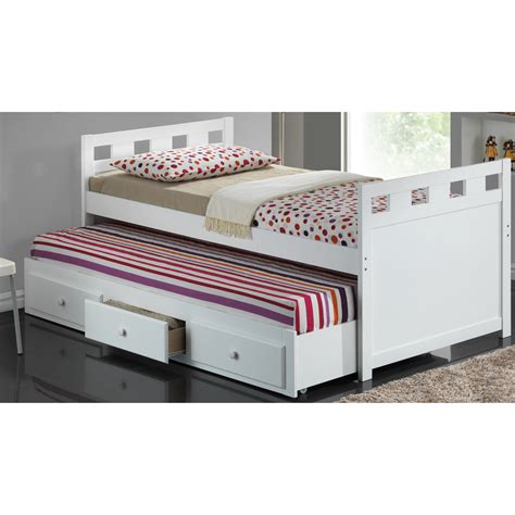 With Trundle Bed by Broyhill Breckenridge Captain Bed With Trundle