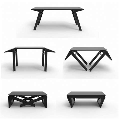Transforming Coffee Table To Dining Table 17 Best Images About Transformable Furniture On Pinterest Space Saving Furniture Furniture