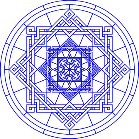 pattern art circle blue pattern design circle free patterns lakeside