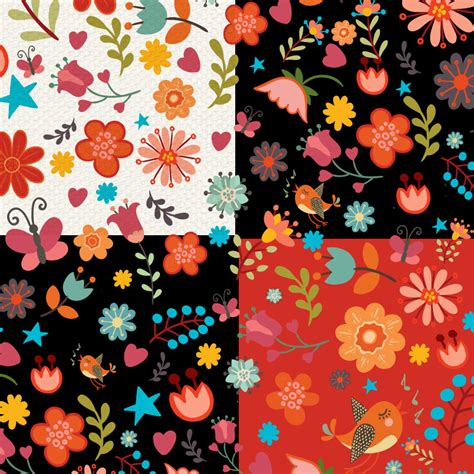 floral pattern for photoshop free download colorful sweet floral pattern photoshop patterns