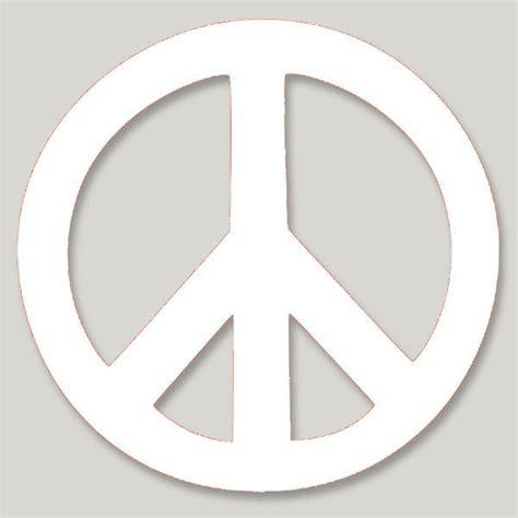 Sticker Vinyl Sablon Jumbo Printing Hello Neropong vl001 peace symbol large vinyl cutout window sticker decal