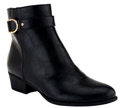 liz claiborne boots quot as is quot liz claiborne new york ankle boots with horsebit