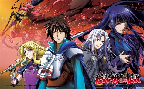 legend of the legendary heroes pages of starlight top ten favorite tv shows