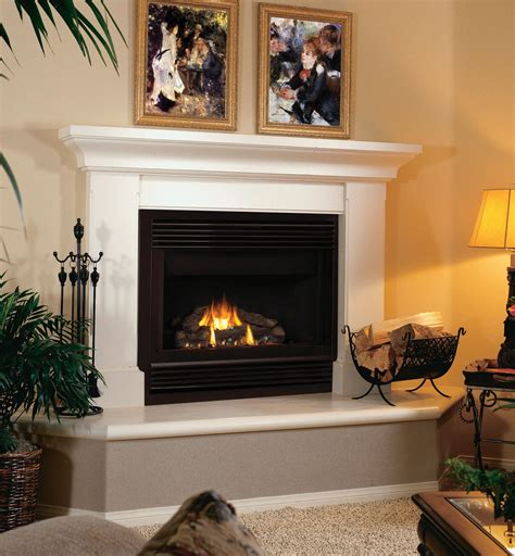 zero clearance wood burning fireplace modern fireplace