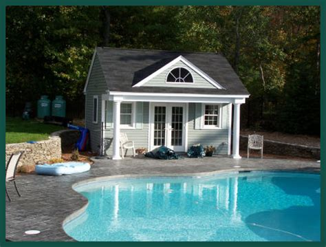small pool houses farmhouse plans pool house