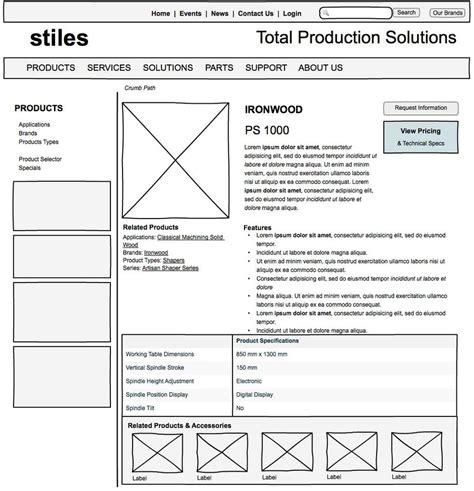 layout web que es wireframes que son y como crearlos web desde cero