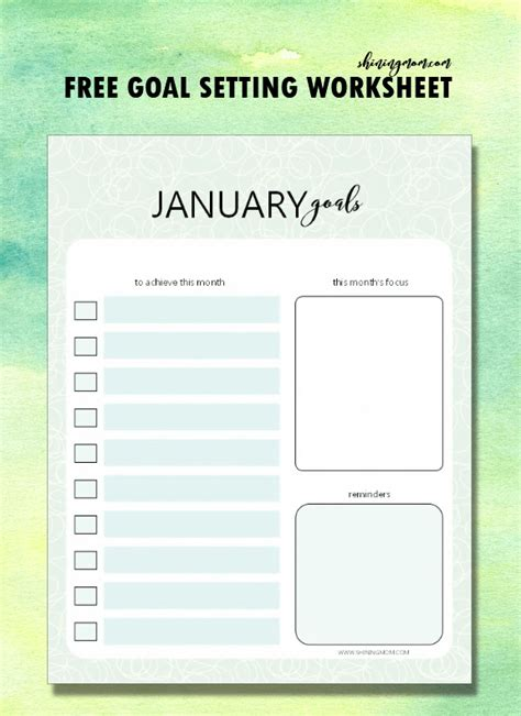 c how to achieve this simple page layout using plan to achieve your year 2018 goals