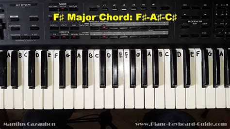 F Sharp Major Chord Piano Dyrevelferdfo