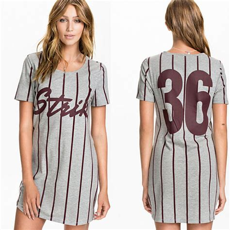 Dres Jersy sleeve sports wear breathable striped letter