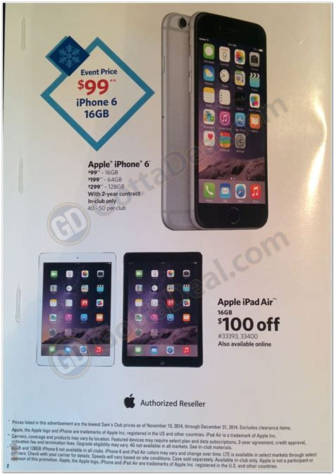 Sam S Club Iphone Gift Card Deal - iphone 6 black friday deals trade in offers