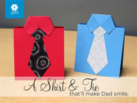 how to make shirt and tie card a dash of scrapbooking how to make a s day shirt