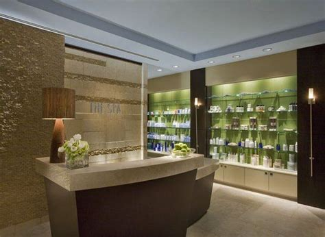 Spa Front Desk by This Is A Beautiful Front Desk Area Apple Blossom