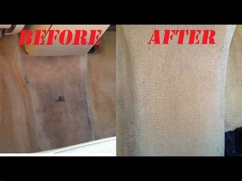 Best Way To Get Stains Out Of Car Upholstery how to clean car carpet and stain on carpet no tools works excellent auto carpet cleaning