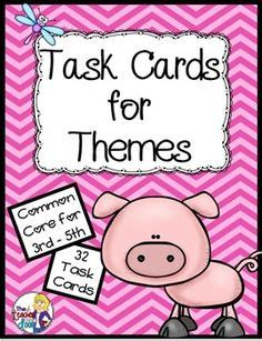 theme in literature songs literature and task cards themes in literature on pinterest teaching themes theme