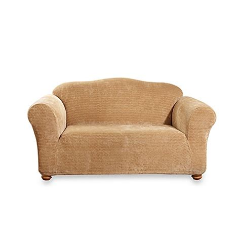 sure fit royal sofa slipcover sure fit 174 stretch royal loveseat slipcover in