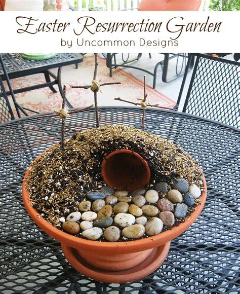 easter garden craft easter resurrection garden tutorial create a simple