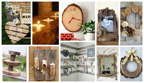 wooden art home decorations stupendous diy rustic wood decor that will make you say