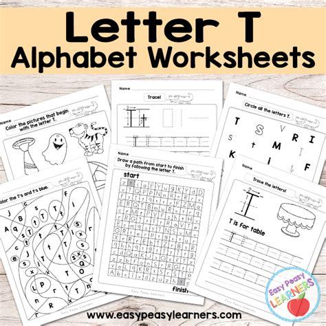 letter t worksheets letter t worksheets alphabet series easy peasy learners 1440