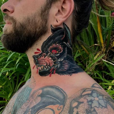 tattoo on neck is it painful 75 best neck tattoos for men and women designs