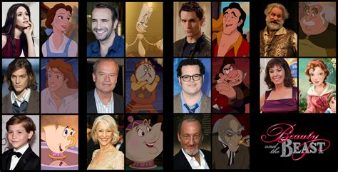 beauty and the beast cast my dream beauty and the beast cast fancast