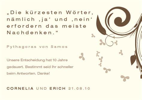 Hochzeitseinladung Text Lustig by Antwortkarten Hochzeit Freudige Botschaft