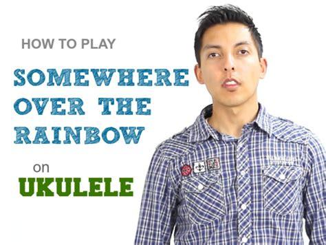 how to play ukulele in 1 day the only 7 exercises you need to learn ukulele chords ukulele tabs and fingerstyle ukulele today best seller volume 4 books how to play somewhere the rainbow on ukulele by iz