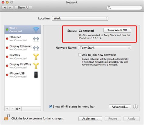 mac ip how to easily find your ip address on mac os x mac heat
