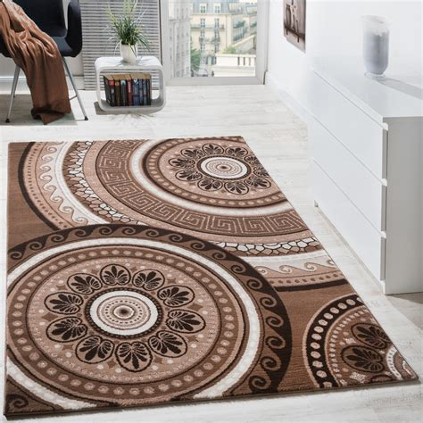 Teppiche Orientalisch by Designer Teppich Kurzflor Mit Glitzergarn Klassisch
