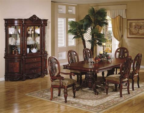 china cabinet and dining room set dining set with china cabinet manicinthecity