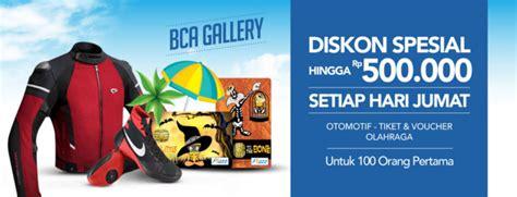 blibli diskon bca promo kartu kredit terbaru credit card promotion