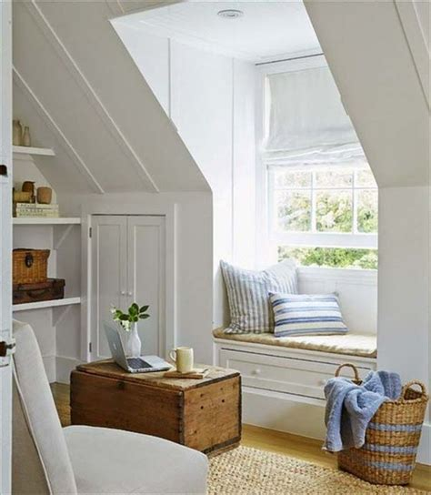 window nook 26 cozy tiny attic nooks and ideas to decorate them