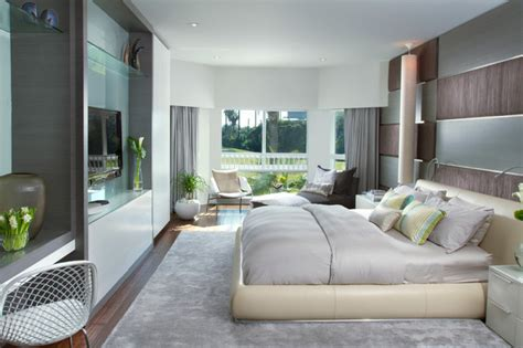 Home Interior Design Modern Bedroom | dkor interiors a modern miami home interior design