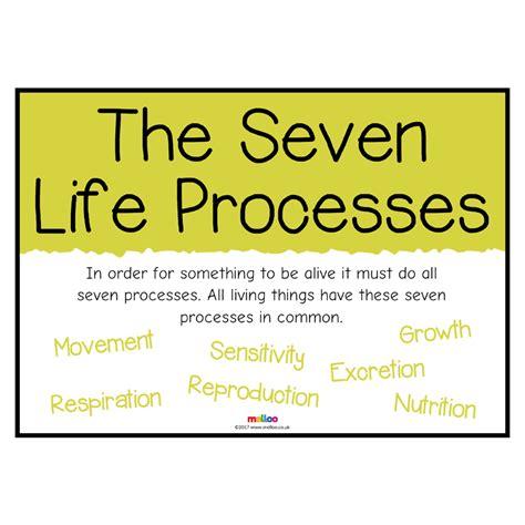 the seven life processes science ks1 ks2