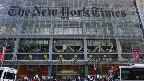 New York Times Office by The About The Failing New York Times