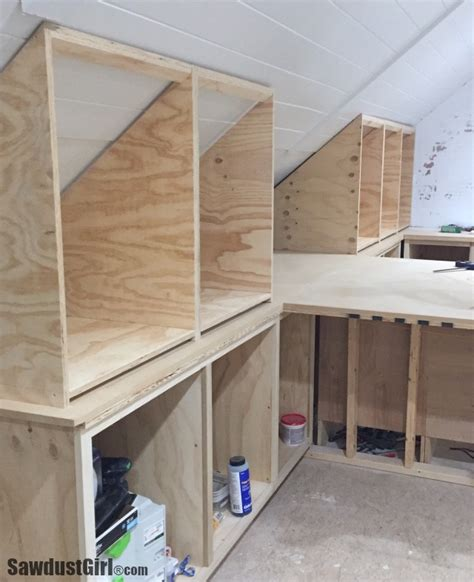 Angled Cabinet Doors - building angled cabinets sawdust 174