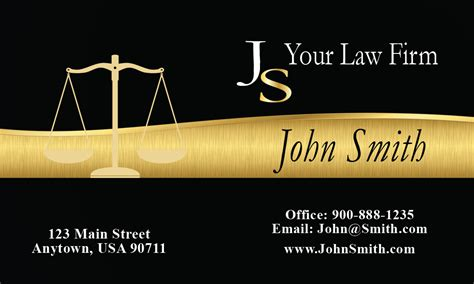 Attorney Business Card Template by Most Creative Attorney Business Card Design 401311