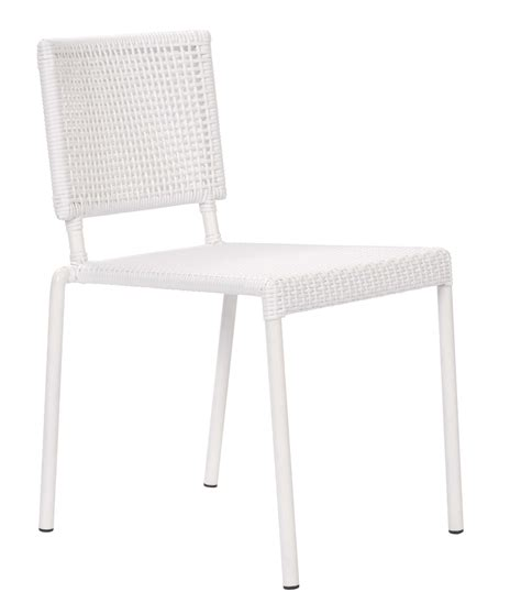 White Outdoor Dining Chair Lido Outdoor Dining Chair White Pr Home