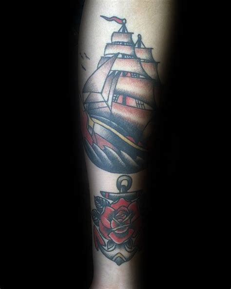 rose themed tattoo 50 traditional rose tattoo designs for men flower ink ideas