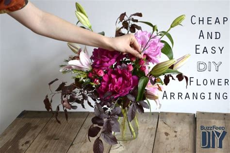 how to make flower arrangements how to cheaply and easily make your own flower arrangements