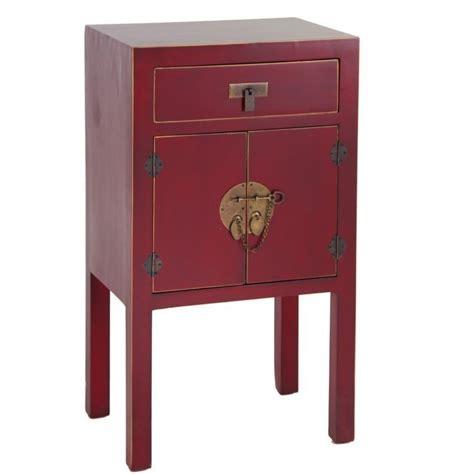 comodini cinesi comodino cinese cera rosso mobili etnici provenzali